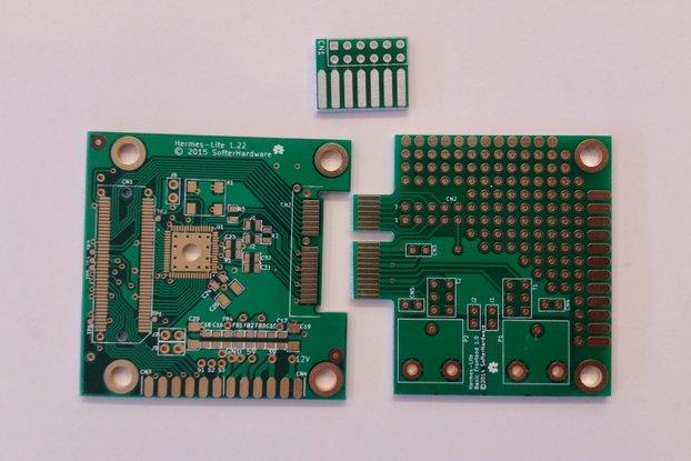 Hermes-Lite SDR Amateur Radio PCB Set