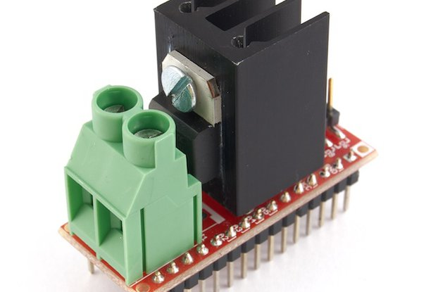 Triac Nanoshield - 2.5A - 25mm Heastink