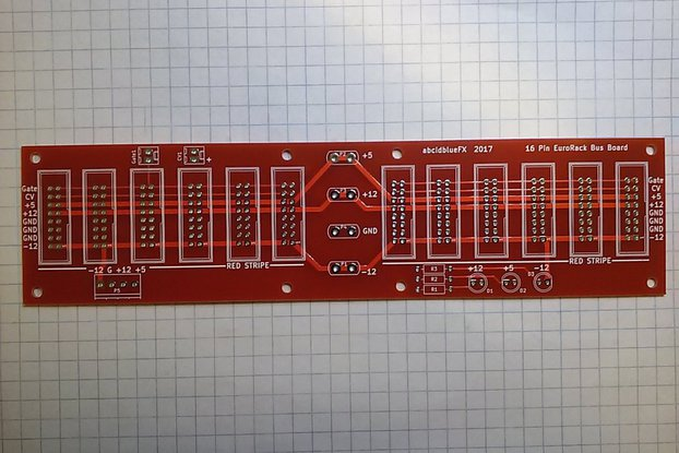 Eurorack Bus Board