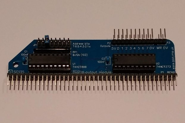 SC135 Digital Output Module Kit for RC2014