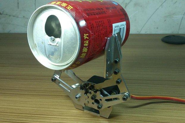 metal Mechanical hand robotic paw