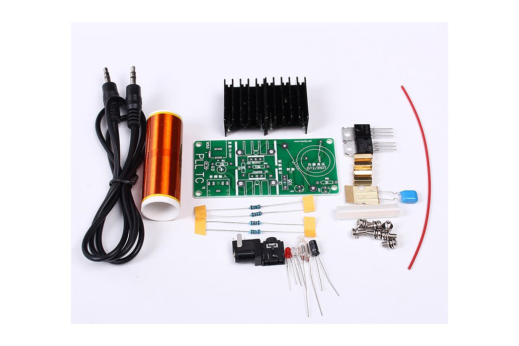 15W Mini Plasma Music Loudspeaker DIY(12005) 5