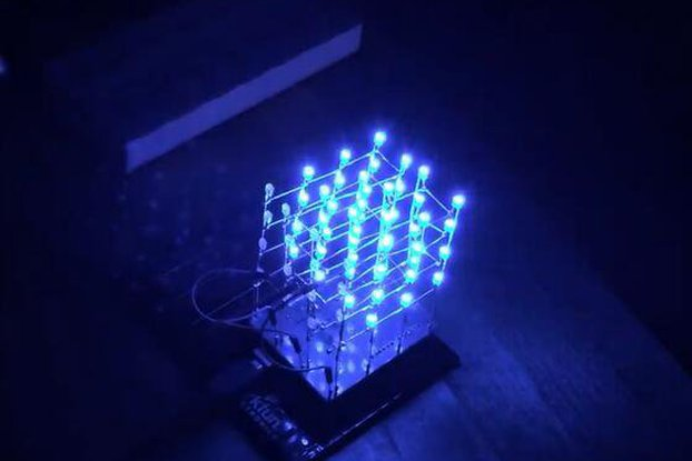 Icstation 4X4X4 Light Cube Kit for Arduino(5312)