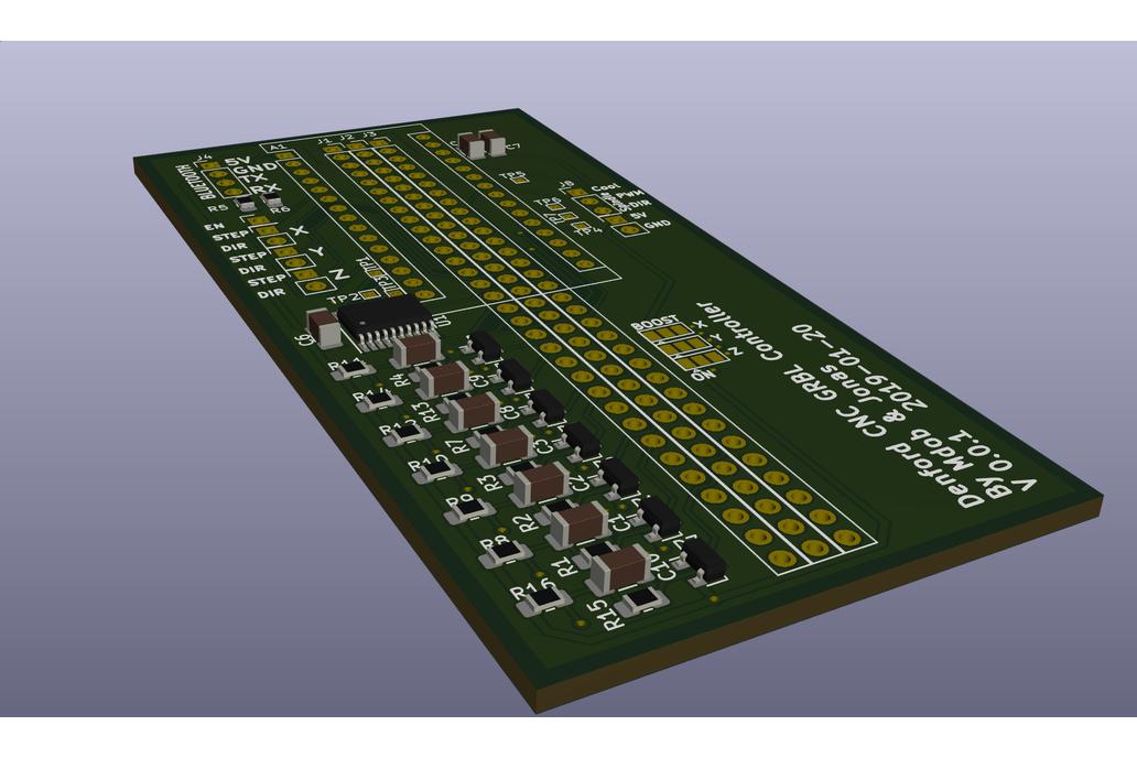 Denford Micro Mill / Lathe CNC GRBL Control Board 1