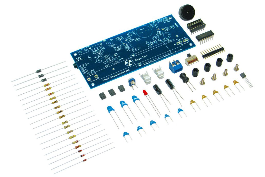 Geiger Counter Radiation Detector DIY Kit 1