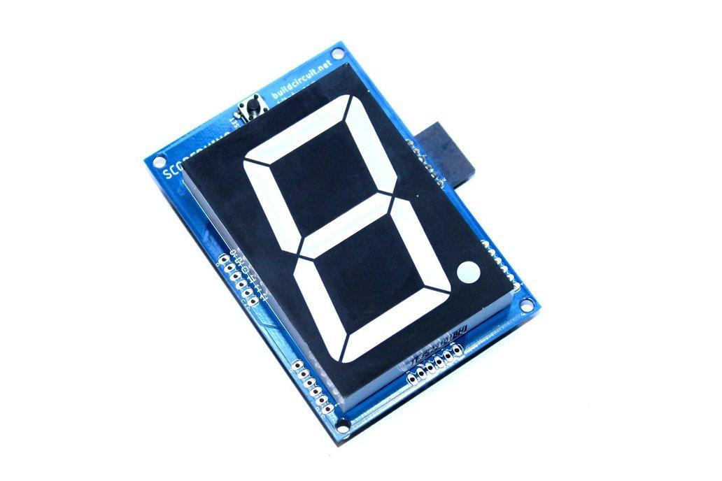"2.3"" common anode seven segment display driver 1"