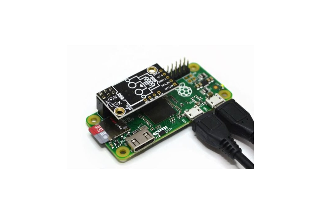 BerryIMUv2-accelerometer, gyroscope, magnetometer 6