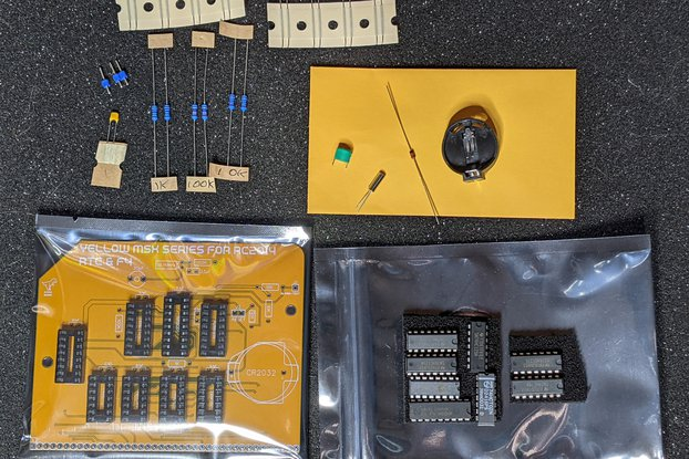 MSX RP5C01 RTC and MSX F4 board for RC2014
