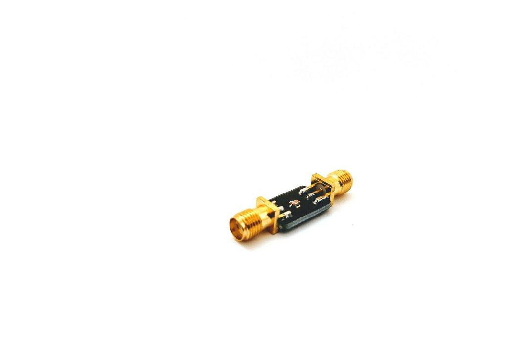 2.45 GHz 2450MHz Bandpass filter; 2 Watt / +33 dBm 1