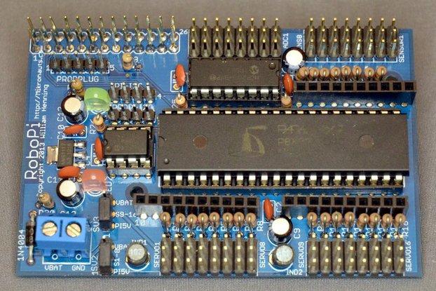 RoboPi Advanced Robot Controller KIT Raspberry Pi