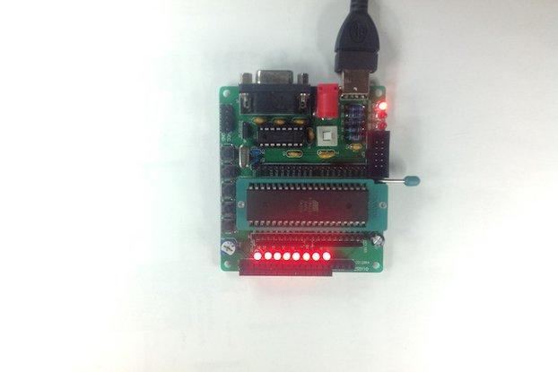 C51/AVR MCU Development Board DIY Kit(1736)