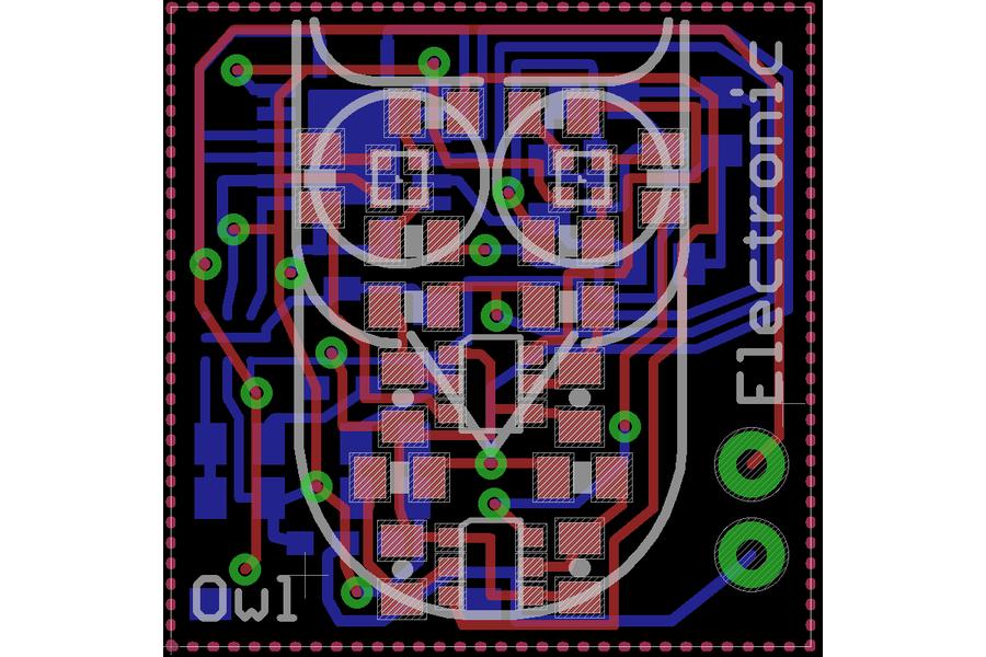 Electronic Owl