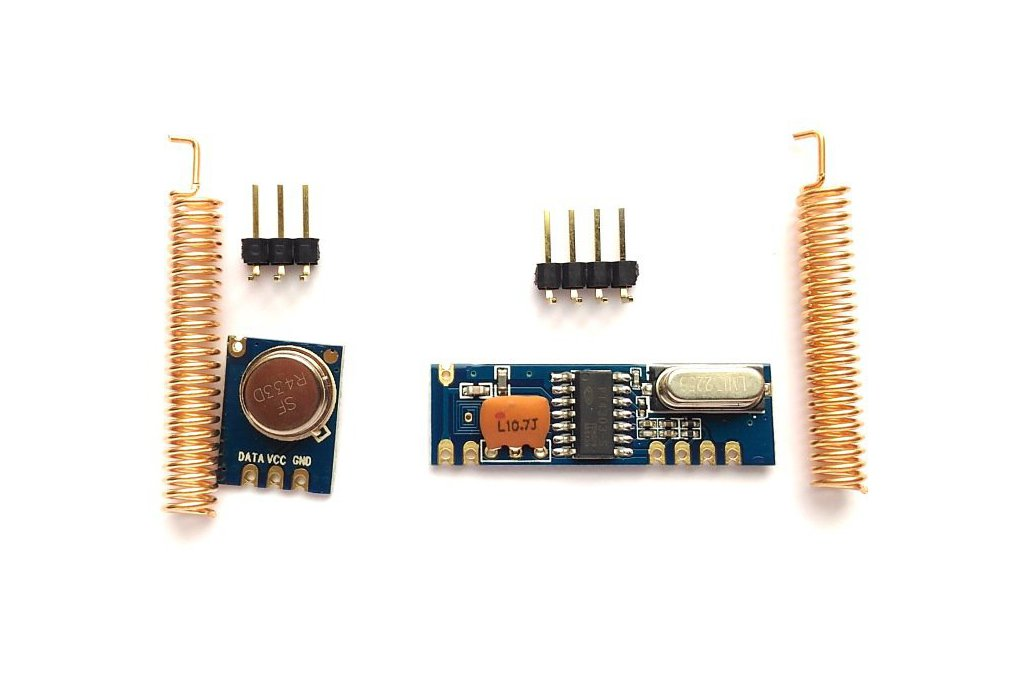 433MHz ASK RF transmitter/receiver kit 1