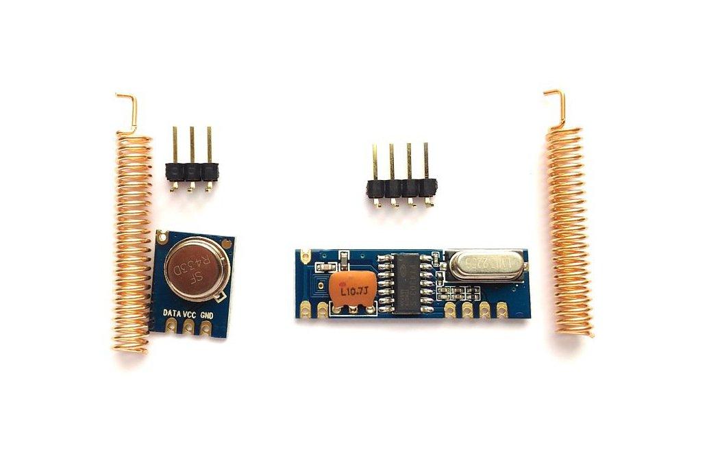 433MHz ASK RF transmitter/receiver kit 1