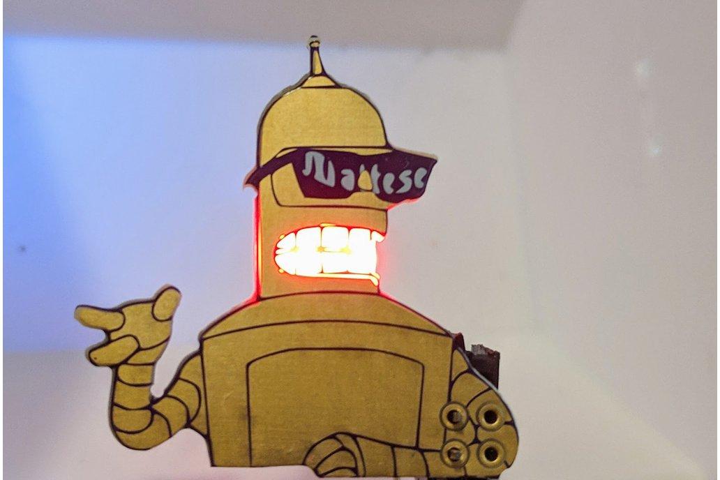 Future-O-Rama Golden Bend-her Robot SAO 1