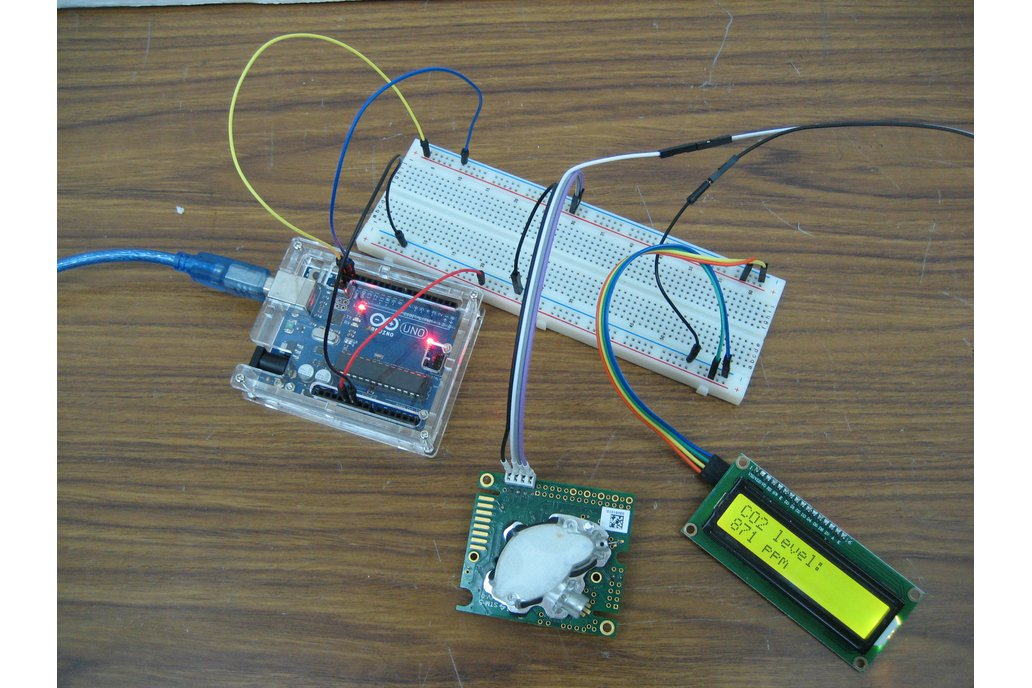 Arduino CO2 kit 2: sensor, LCD screen, cables 1