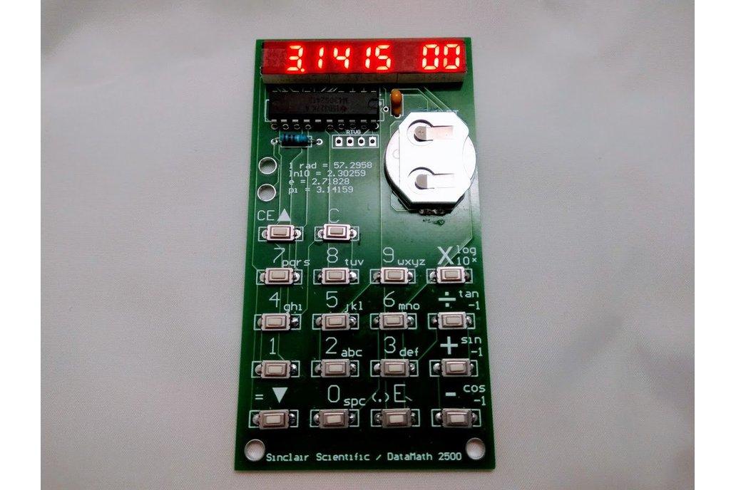 TI MSP430 Emulating Calculator Kit (2020 Version) 1