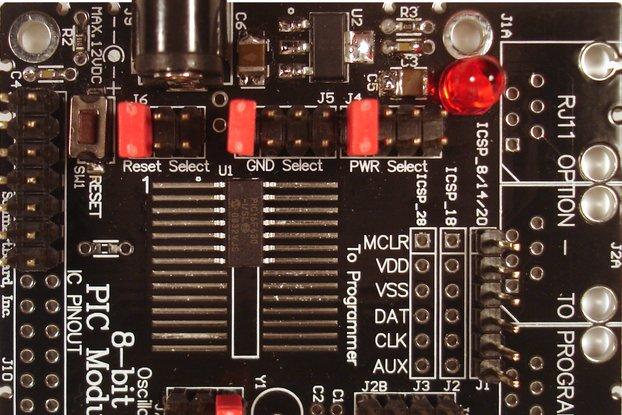 SchmartBoard DevBoard A 8 Bit PIC® Microcontroller