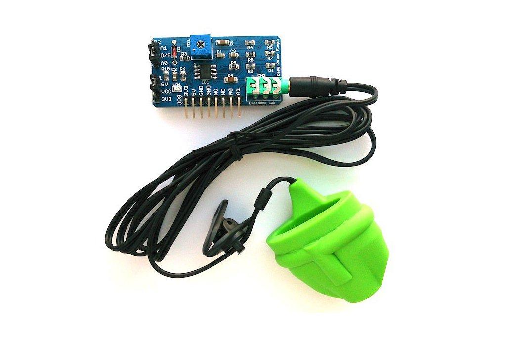 Easy Pulse Plugin: An Arduino pulse sensor 1