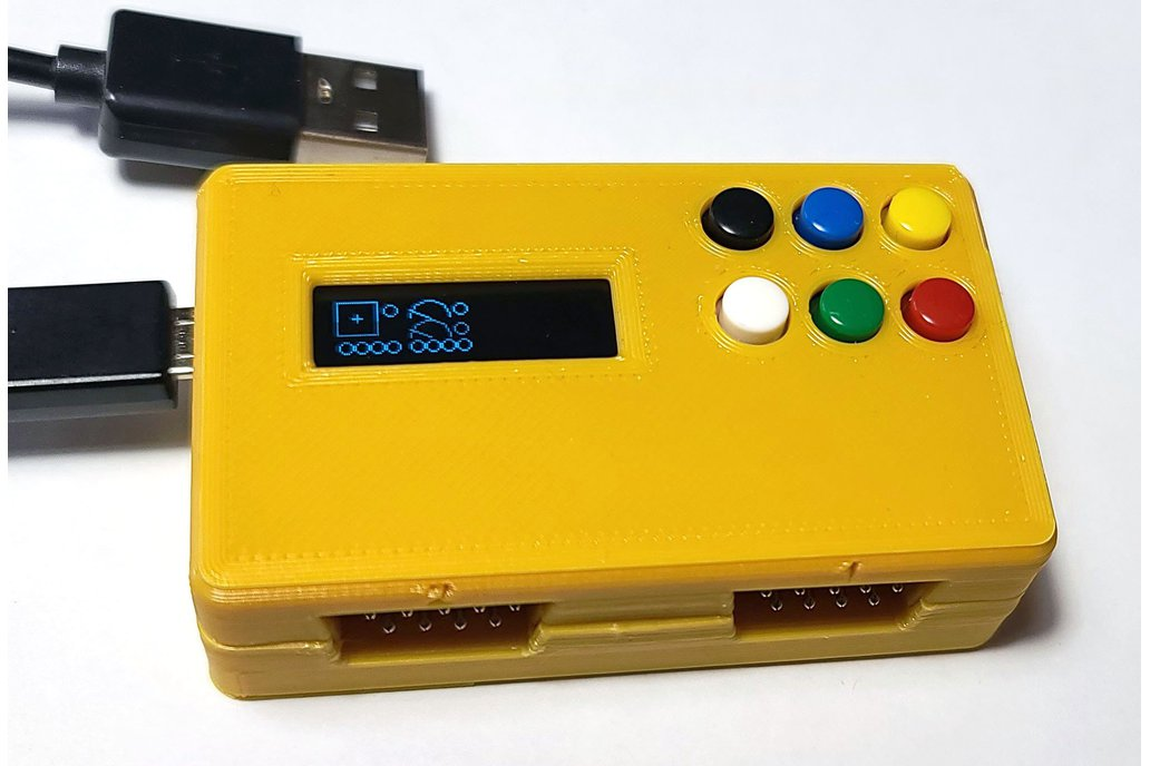 Joystick, Paddle, Driving to USB Adapter Duo Atari 1