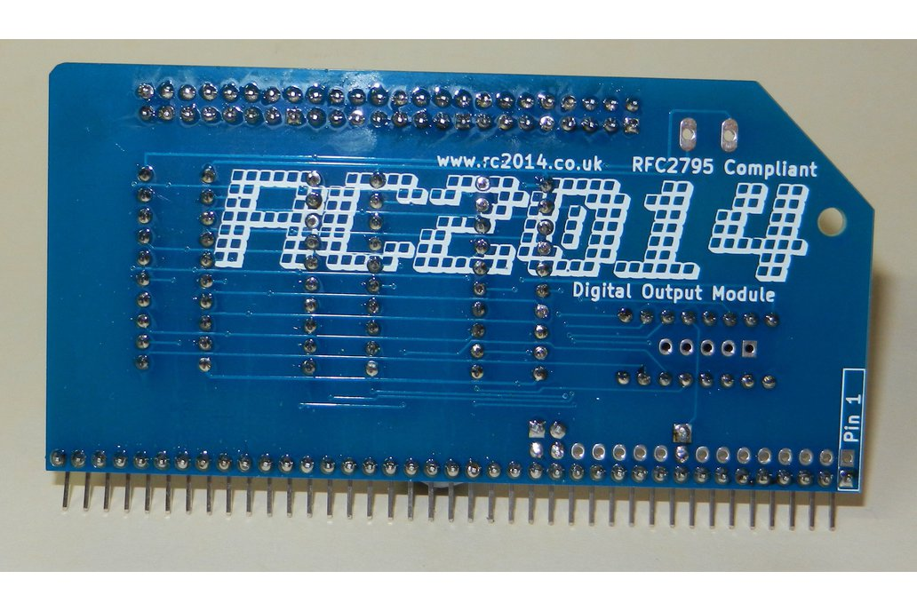 Digital Output Module For RC2014 Z80 Computer 3