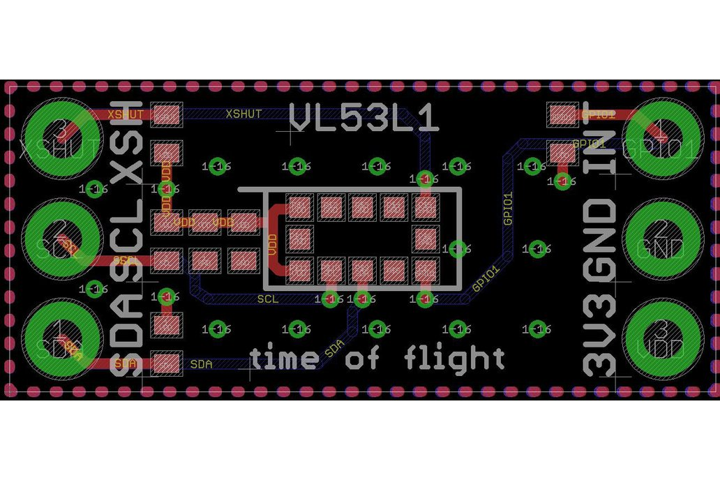 VL53L1 long-range proximity sensor 6