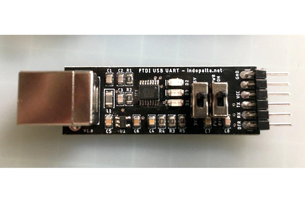 FTDI FT230XS USB UART 5V / 3.3V 1