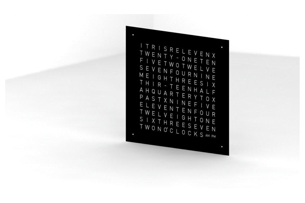 Wordclock - Frontpanel - 40x40cm 5