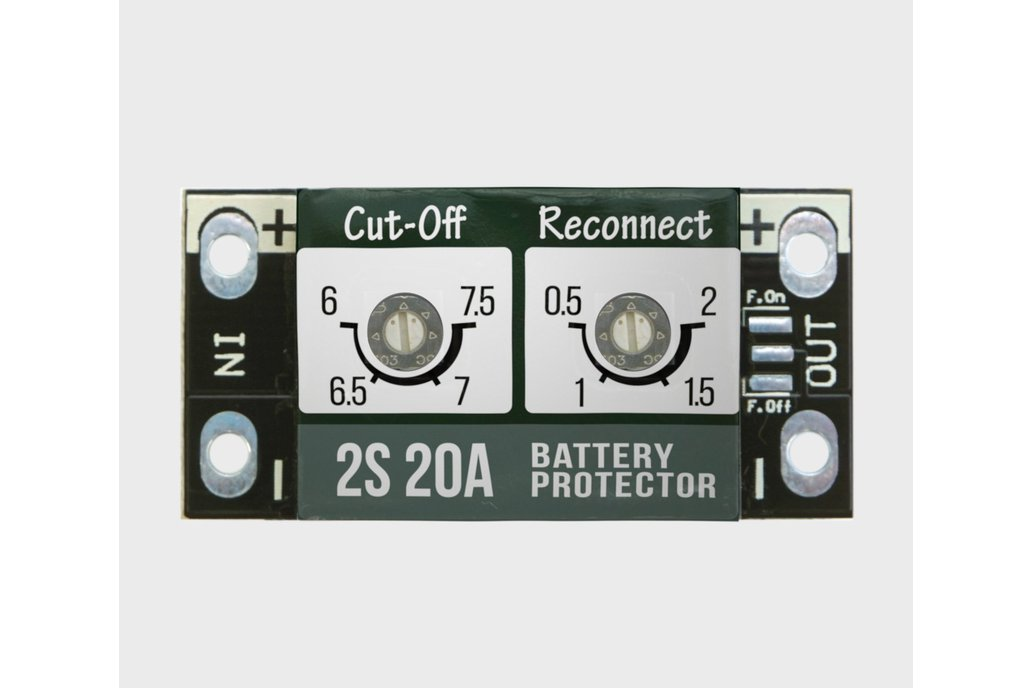 Li-Ion  BATTERY PROTECTOR 20A 1