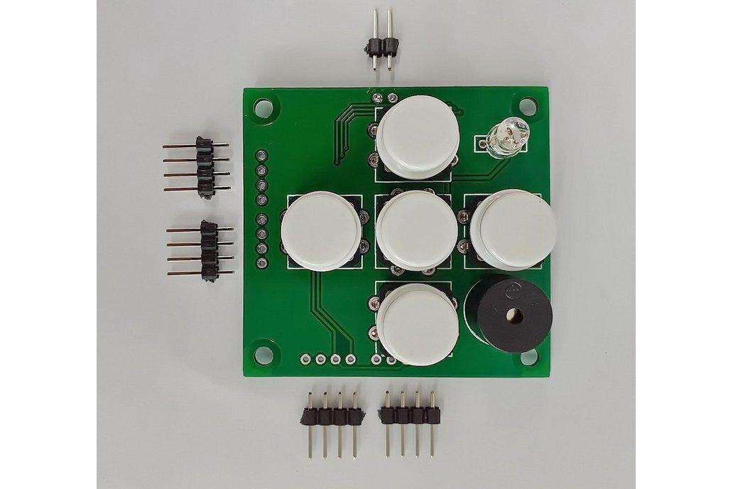 I2CUI4_V1 - User Interface I2C module with 5-keys 1
