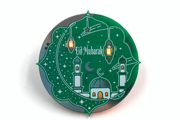 Programmable Eid Badge - Learn coding with Arduino