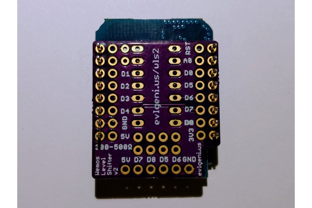 Wemos D1 Mini ESP8266 Level Shifter Mini Shield 5
