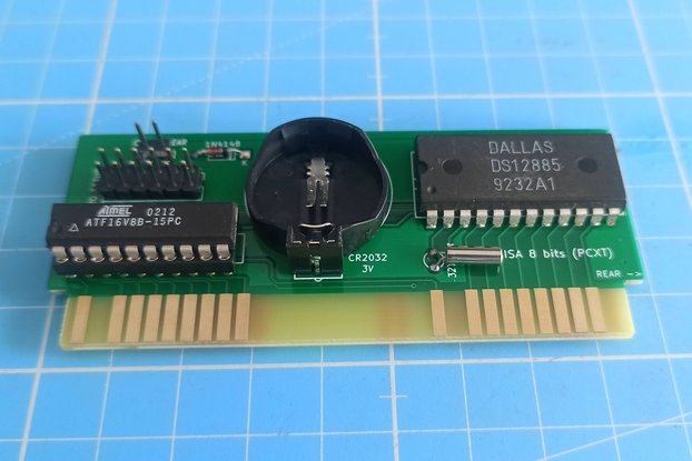 RTC ISA 8 bits (Very Low Profile)