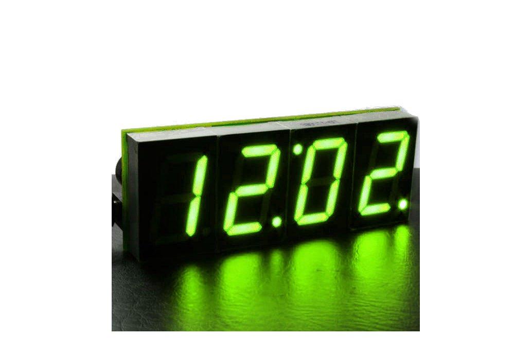 DIY 4 Digit LED Electronic Clock Kit Large Screen  3