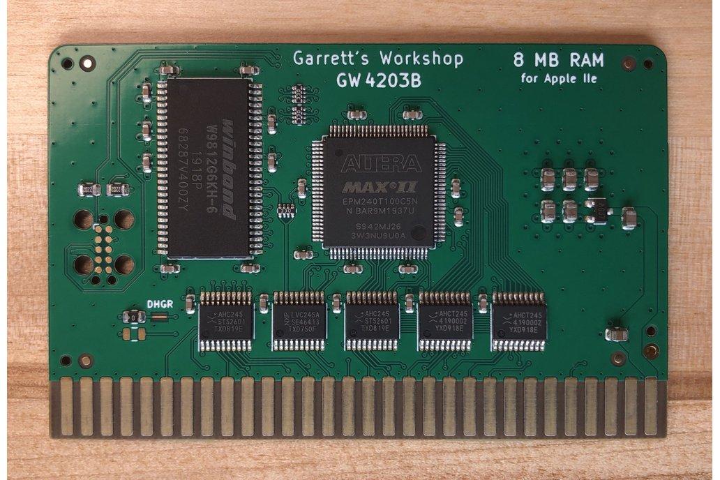 RAM2E II (GW4203B) -- 8MB RAM for Apple IIe 1