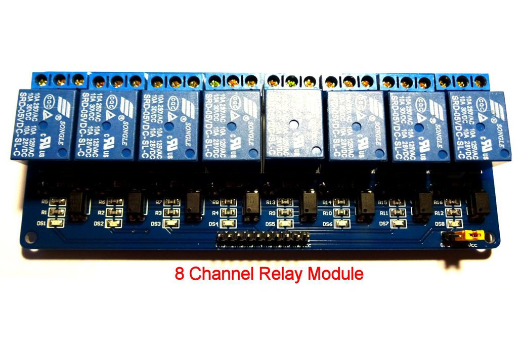 Relay Switcher : 8 Channel MIDI-to-relay module 7