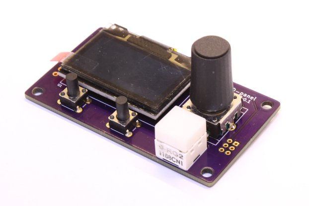 OLED Front Panel Module
