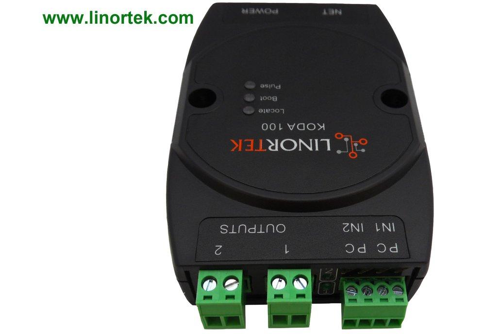 KODA 100 TCP/IP Ethernet I/O Relay Controller 1