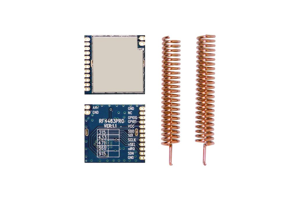 RF4463PRO 20dBm  wireless transceiver module 3