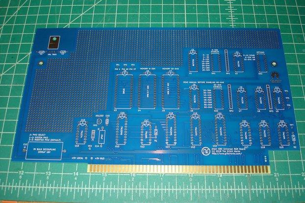 Glitch Works Altair 680 Universal 64K RAM Board