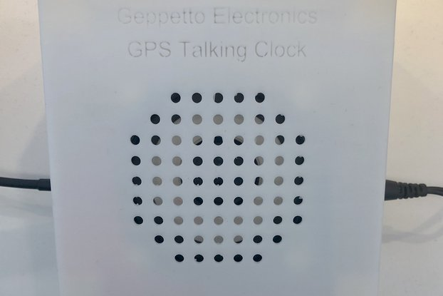 GPS Talking Clock