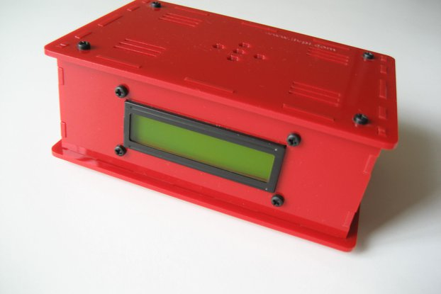 Raspberry Pi - LiV Pi case for RPi model 3/2/B+