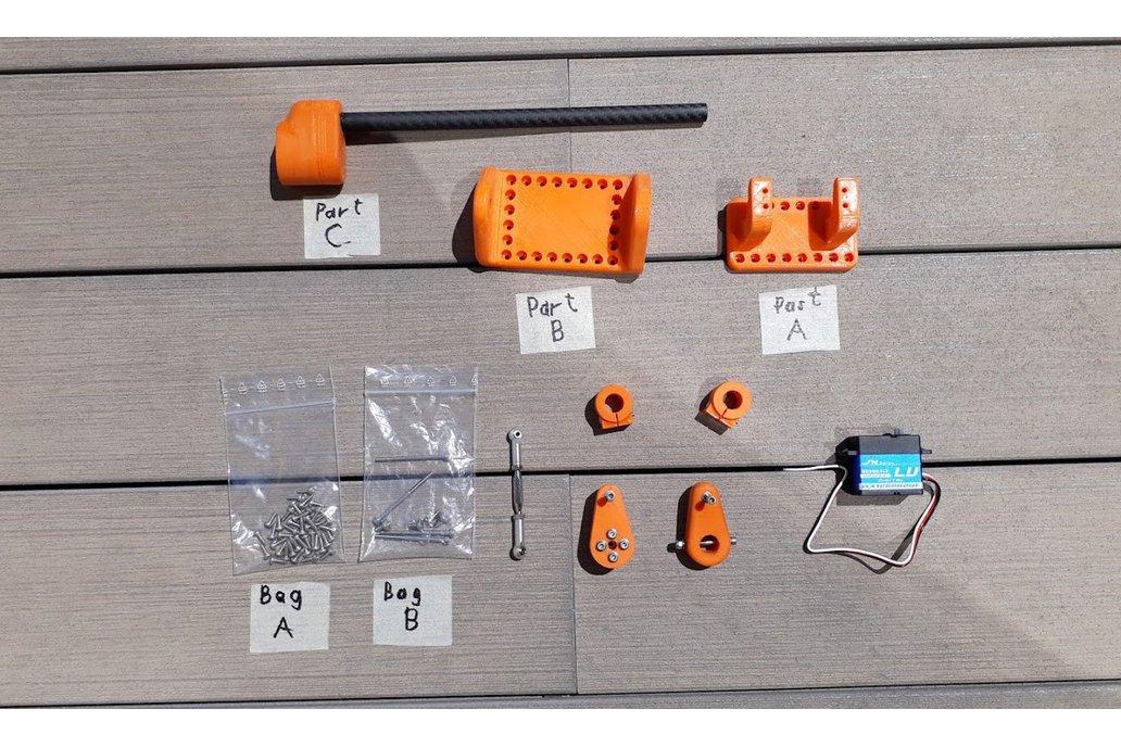 Outboard System kit for ASVs 1