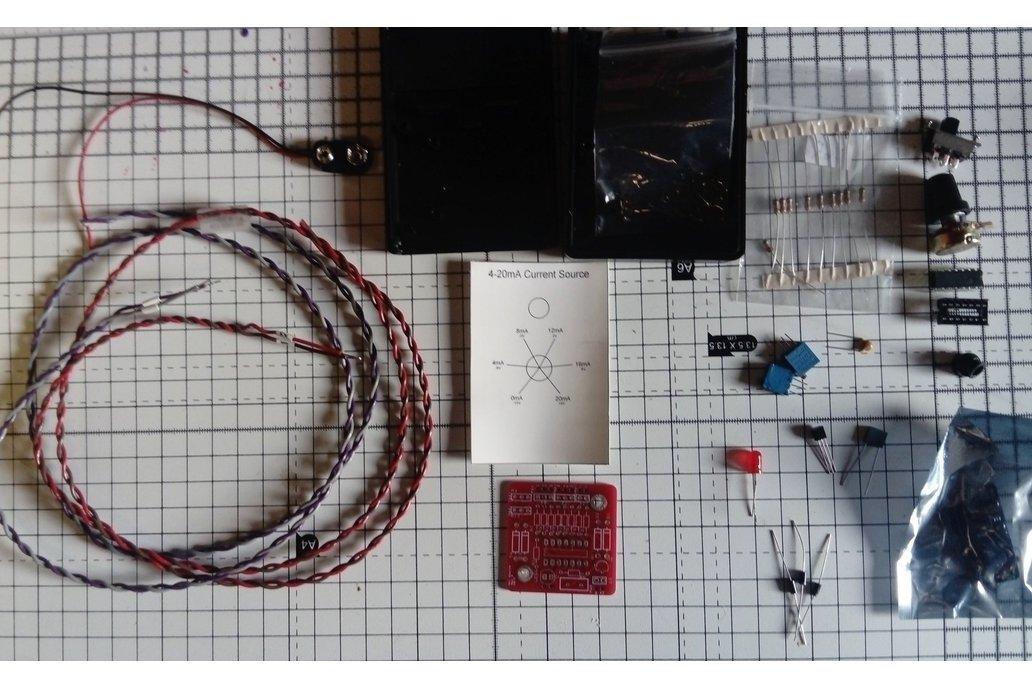 Handheld 4-20mA +-10V current / voltage source kit 1