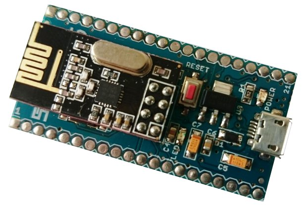 smartRF Development Module - nRF24L01+ based