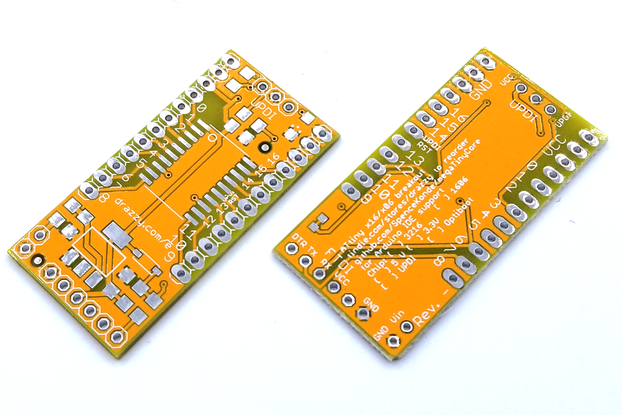 ATtiny3216/similar breakout board (bare board)