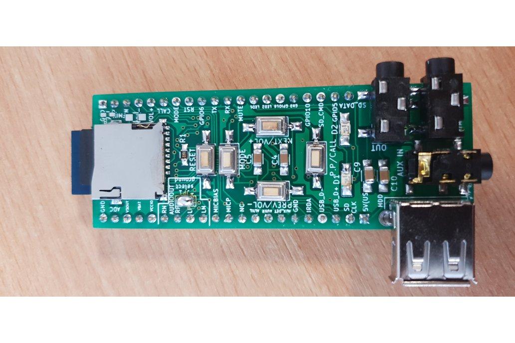 Assembled advanced breadboard adapter for BK3245 4