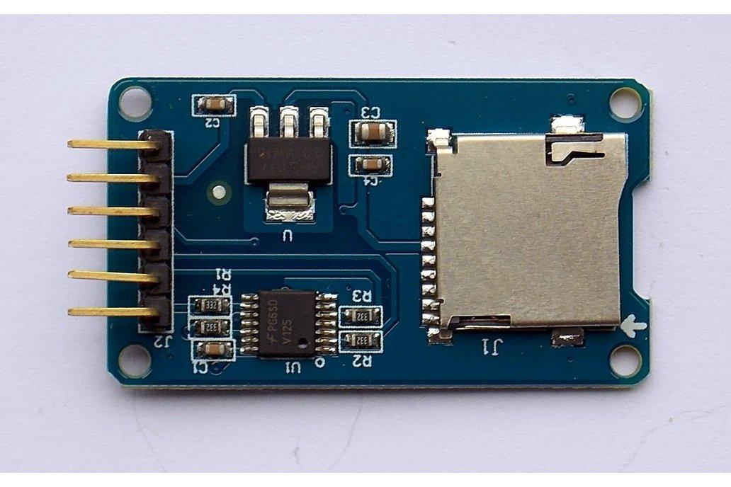 MicroSD Memory Card Module SPI, Arduino Compatible 1