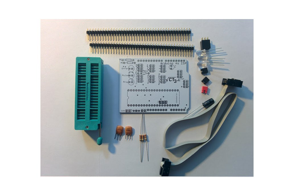 Arduino as ISP shield Atmega328/1284 Attiny85 2