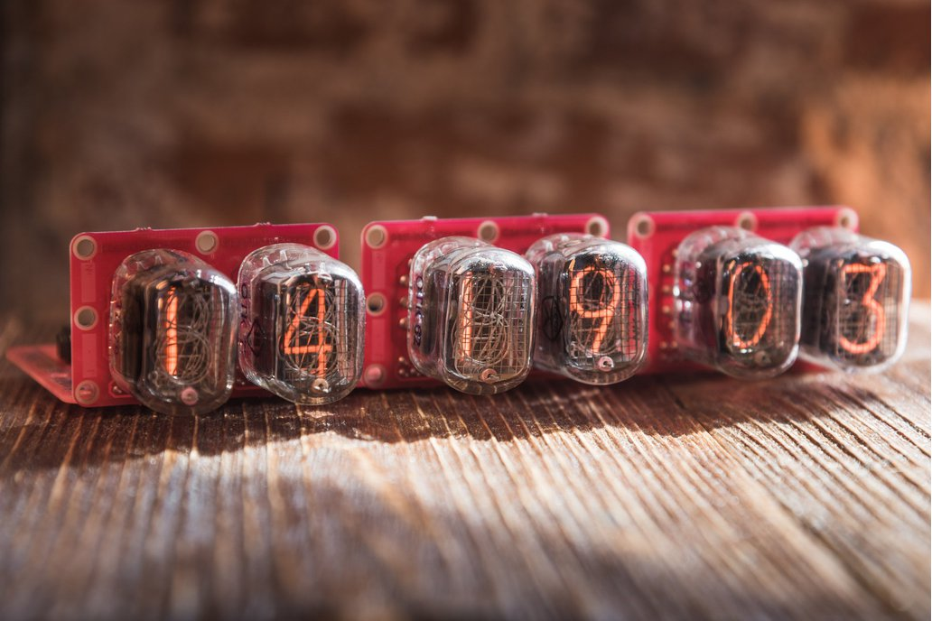 IN-12 Nixie tube clock without case 1